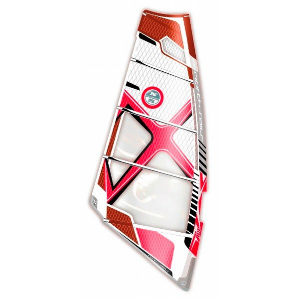 North Sails Ice Windsurf Sail White / Red 4 7M U.S.A. & Canada