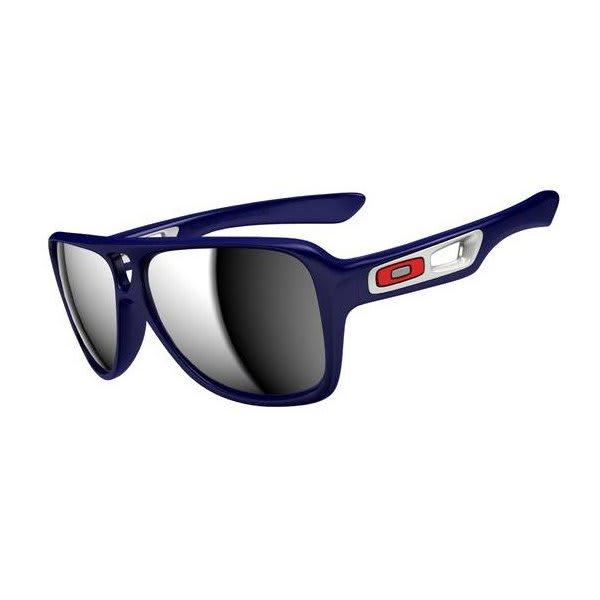 Oakley Dispatch Ii Sunglasses Polished Navy / Chrome Iridium Lens U.S.A. & Canada