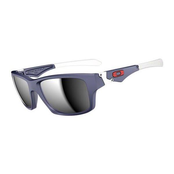 Oakley Jupiter Squared Sunglasses Matte Navy / Chrome Iridium Lens U.S.A. & Canada