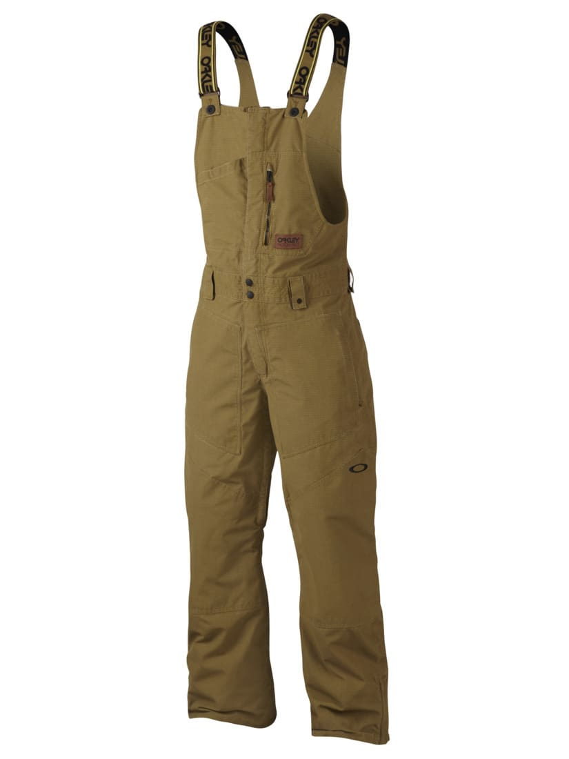 oakley timber biozone shell overall bib snowboard pants