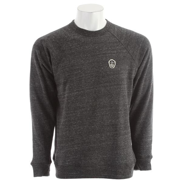 Obey Captain Crew Sweatshirt Heather Onyx U.S.A. & Canada