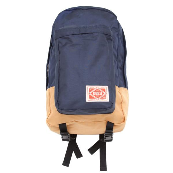 Obey Commuter Pack Backpack Navy / Gold U.S.A. & Canada