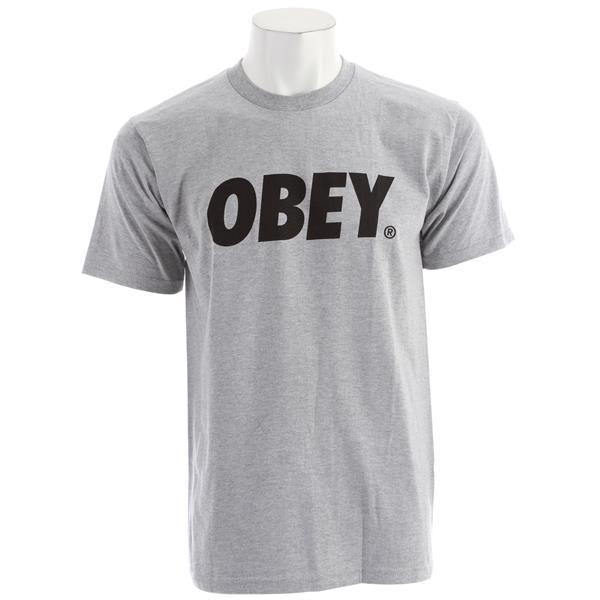 Obey Font Basic T Shirt U.S.A. & Canada