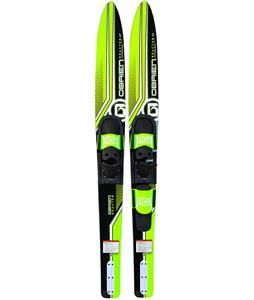 O'Brien Reactor Combo Skis w/ 700/Adj RTP Bindings