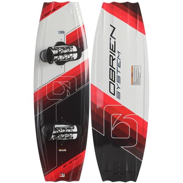 O' Brien System Wakeboard 140 W / System Bindings One Size U.S.A. & Canada