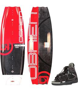 O'Brien System Wakeboard w/ Clutch Bindings