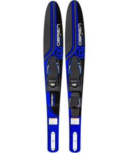 O'Brien Vortex Combo Skis w/ X-7/Adj RTP Bindings
