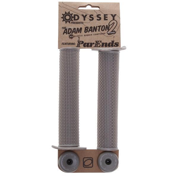 Odyssey Adam Banton Ii Bmx Grips Metallic Silver 140Mm U.S.A. & Canada