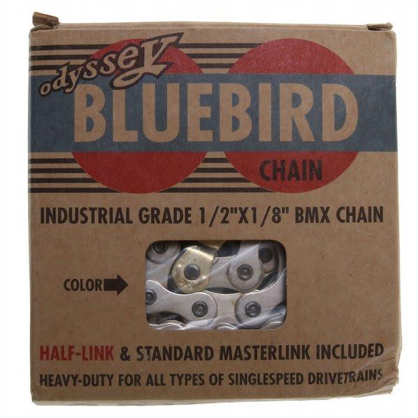 "Odyssey Bluebird Bike Chain Silver 1 / 8"" U.S.A. & Canada"