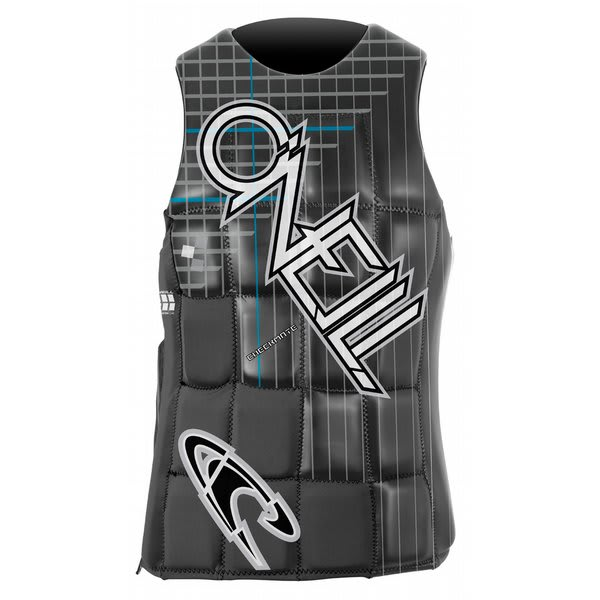 O' Neill Checkmate Comp Wakeboard Vest Black / Graphite U.S.A. & Canada