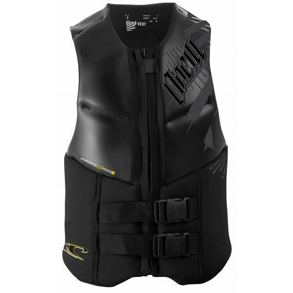 O' Neill Outlaw Comp Wakeboard Vest Black / Black U.S.A. & Canada