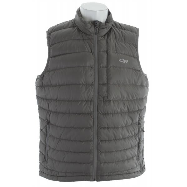 Outdoor Research Transcendent Vest Pewter U.S.A. & Canada
