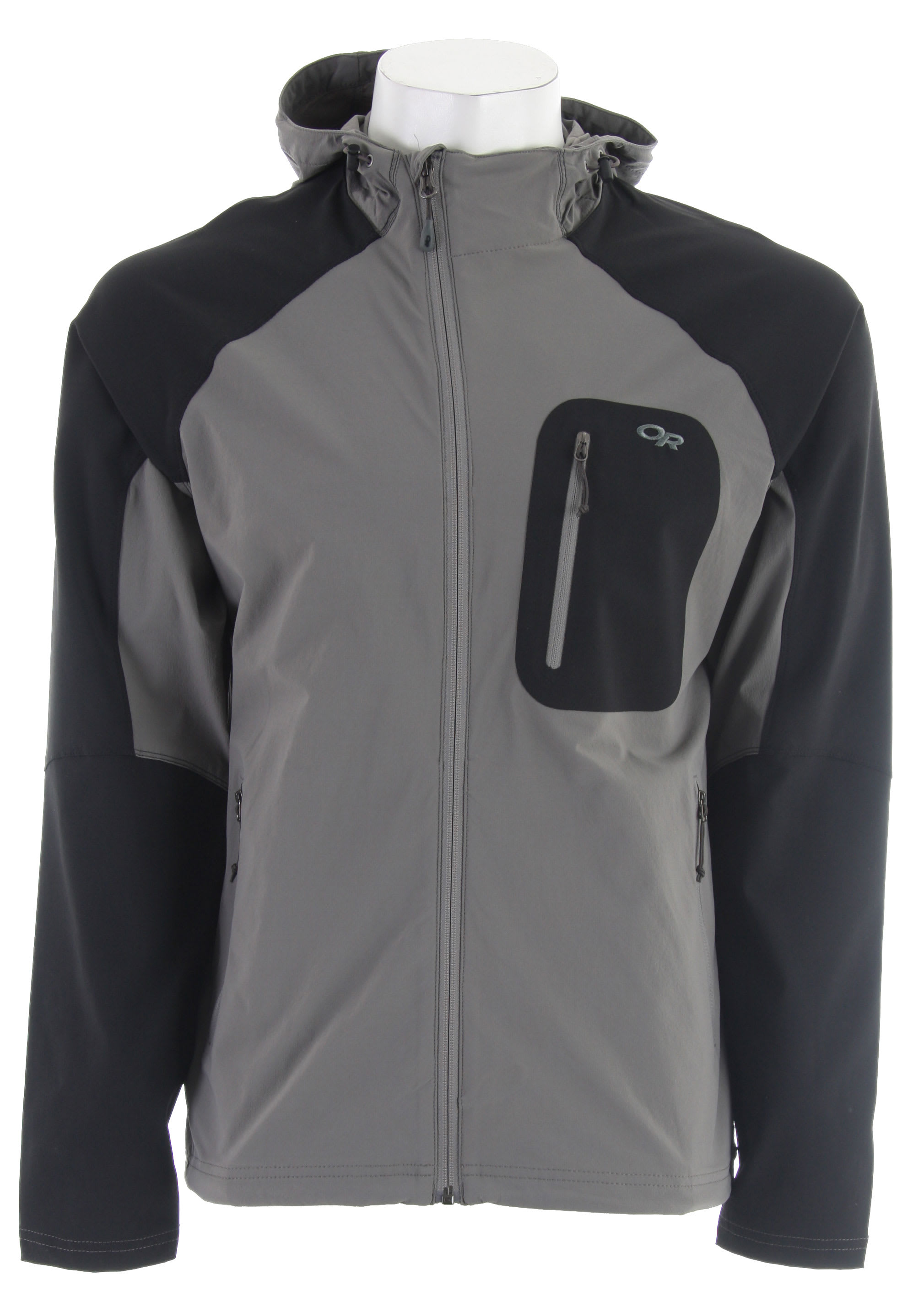 best website a6f5a a26d3 Outdoor Research Ferrosi Hoody Softshell Jacket
