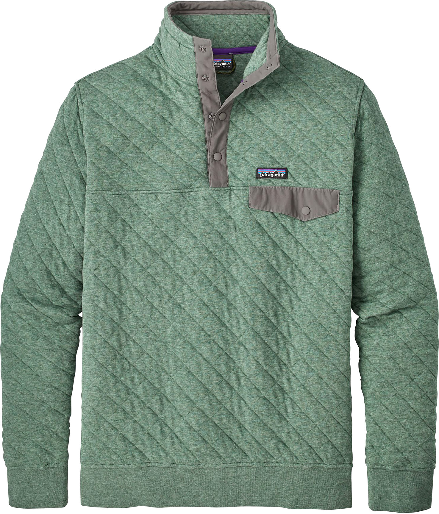 Patagonia Cotton Quilt Snap T Pullover Fleece