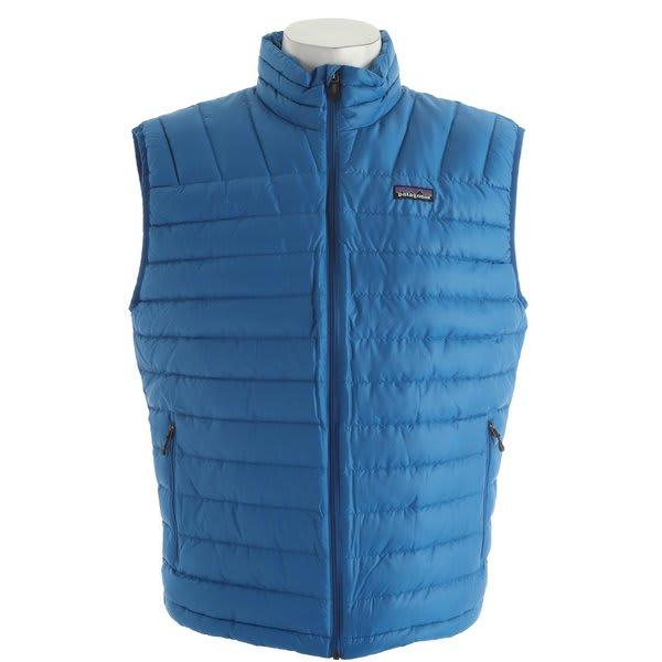 Patagonia Down Sweater Vest Bandana Blue U.S.A. & Canada