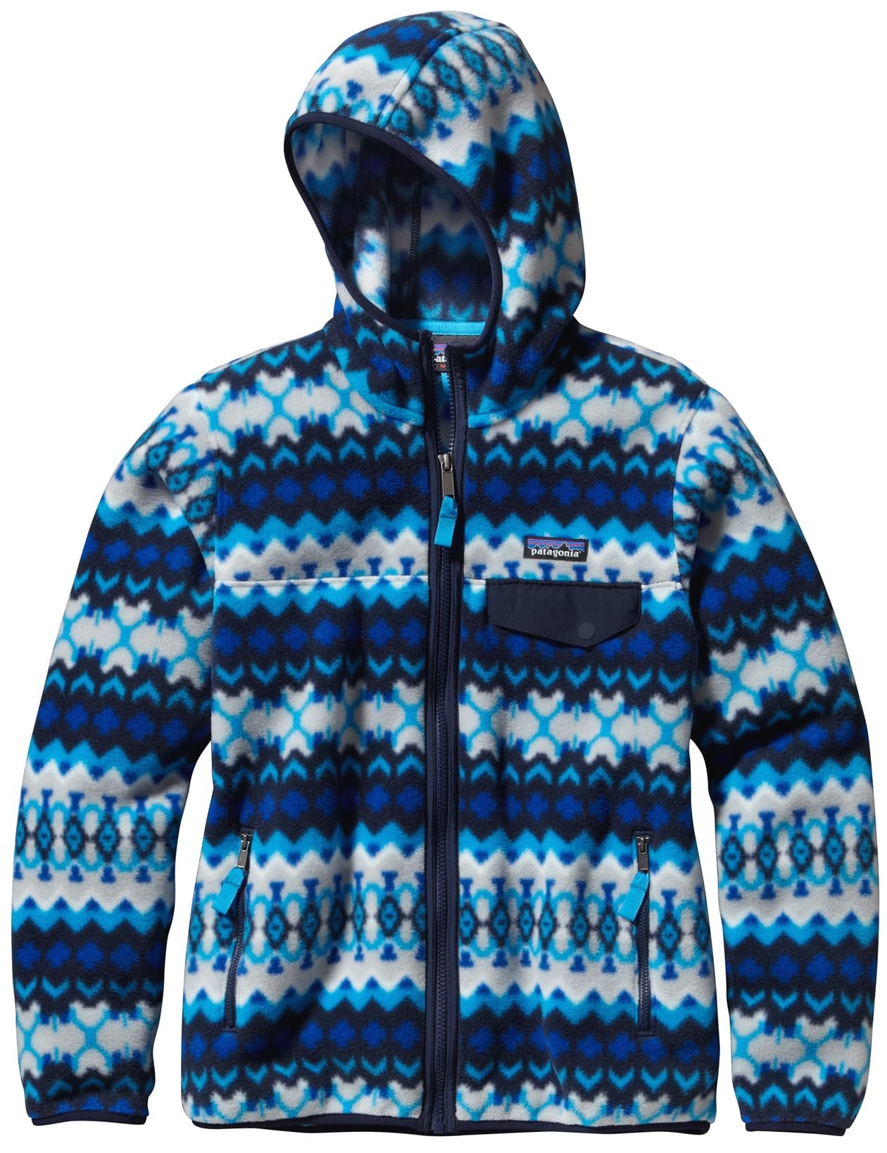 Patagonia Lightweight Snap T Hooded Fleece Womens