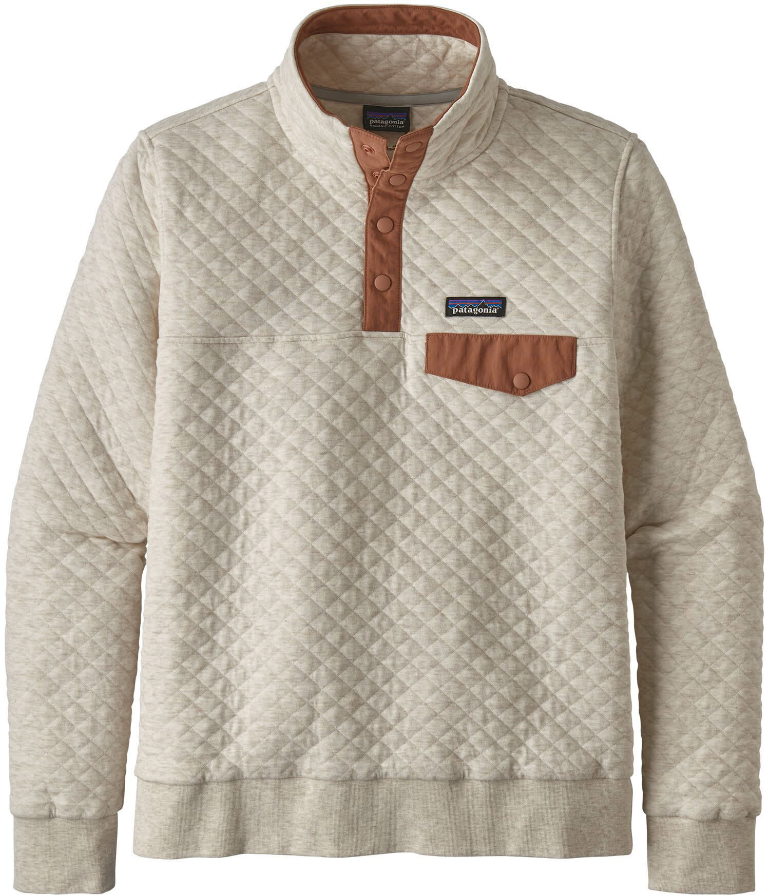 Patagonia Organic Cotton Quilt Snap T Pullover Fleece Womens
