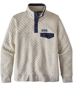 Patagonia Organic Cotton Quilted Snap-T Pullover Fleece