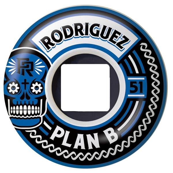 Plan B Prod Crest 2 0 Skateboard Wheels 51Mm U.S.A. & Canada