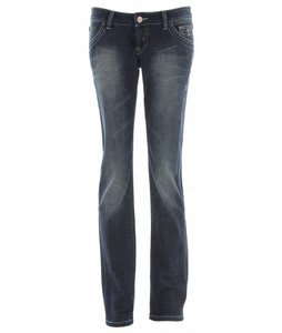 Planet Earth Skinny Cut Stone Wash Jeans