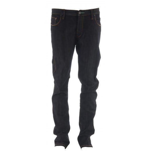 Planet Earth Slim Stretch Jeans Black Rinse Wash U.S.A. & Canada