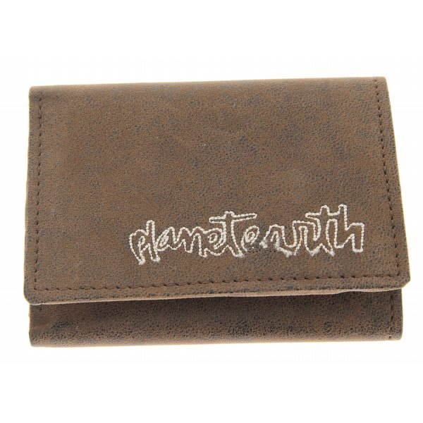 Planet Earth Sparta Wallet Brown U.S.A. & Canada