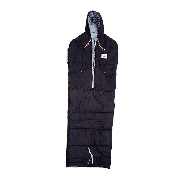 "Poler Nap Sack Sleeping Bag Black Medium (4' 6"" 5' 7"") U.S.A. & Canada"