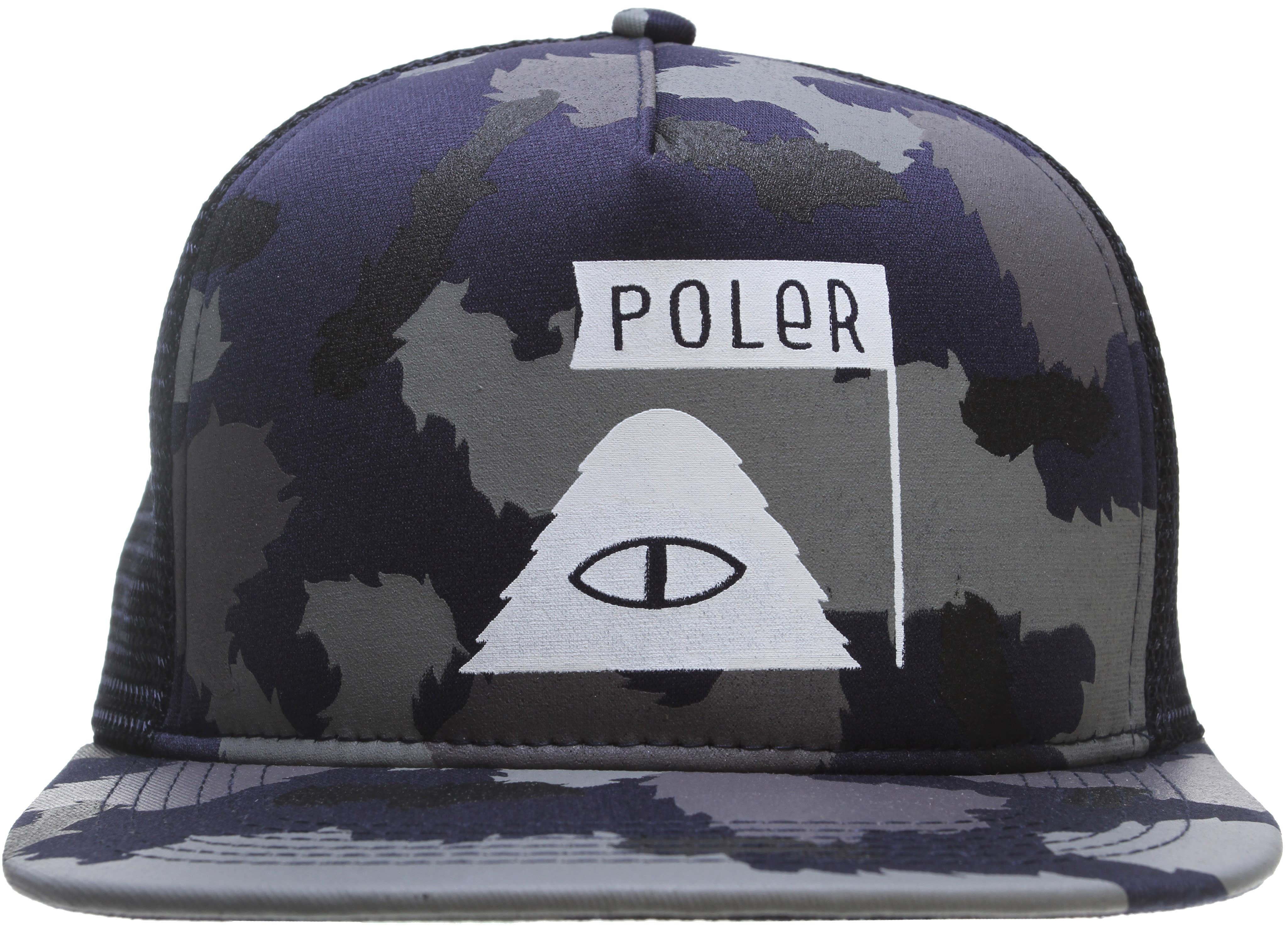 Poler Summit Mesh Trucker Cap - thumbnail 1 fe6bf7a2d8c