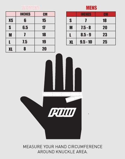 Pow Size Chart