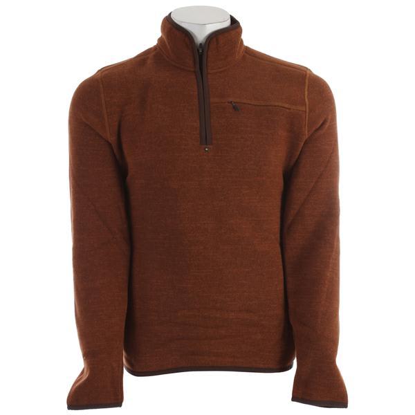Prana Bryce 1 / 4 Zip Sweater Auburn U.S.A. & Canada