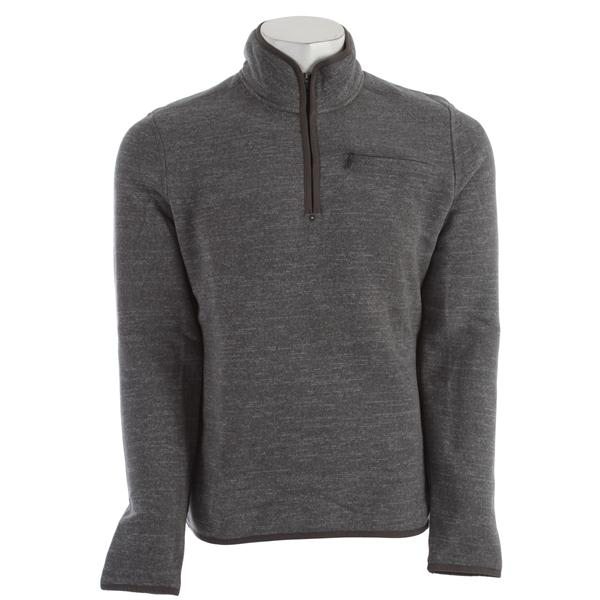 Prana Bryce 1 / 4 Zip Sweater Grey U.S.A. & Canada