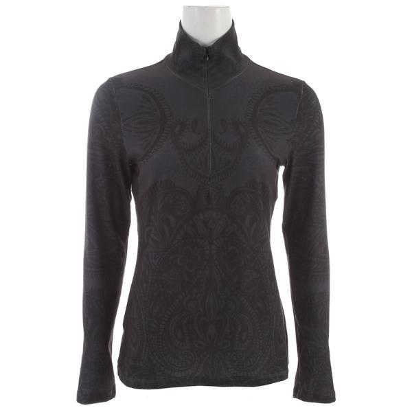 Prana Mabel Half Zip Shirt Black U.S.A. & Canada