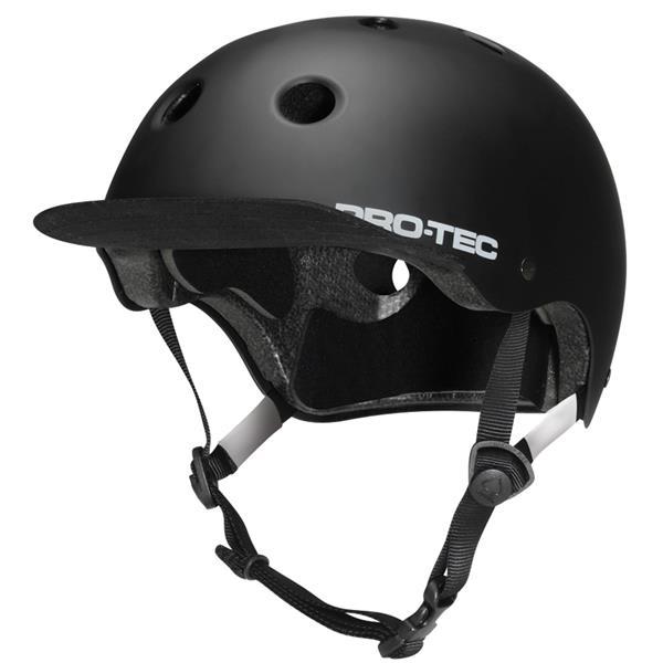 Protec Classic Street Bike Helmet Satin Black U.S.A. & Canada