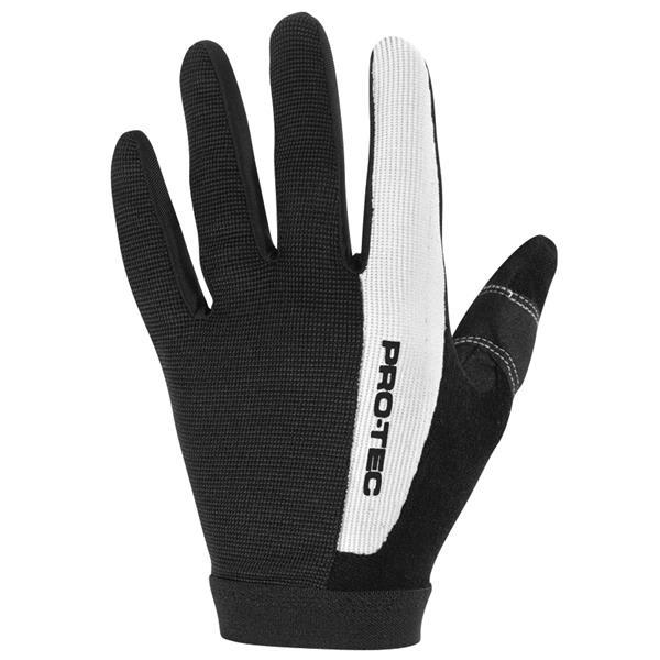 Protec Hi 5 Bike Gloves Black / White U.S.A. & Canada