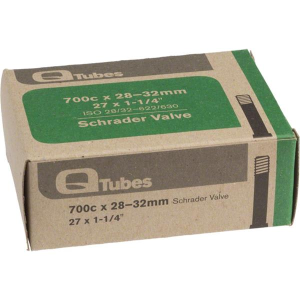 Q Tubes Schrader Valve Bike Tube 700C X28 32Mm U.S.A. & Canada