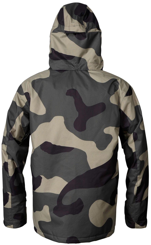Quiksilver camo snowboard jacket