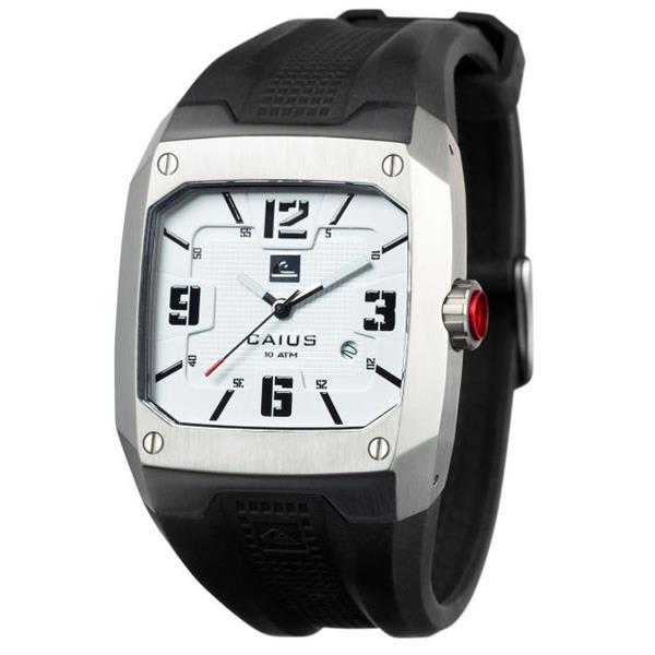 Quiksilver Caius Watch Silver U.S.A. & Canada
