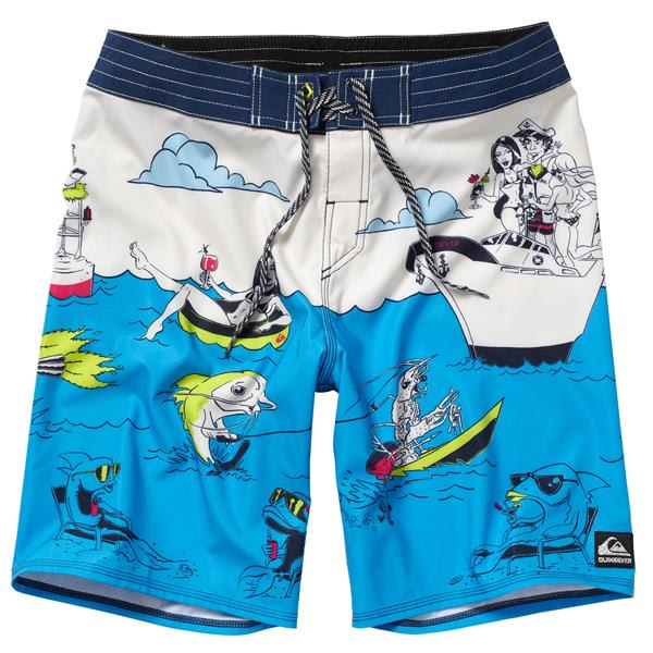 Quiksilver Lake Haveabrew Boardshorts U.S.A. & Canada