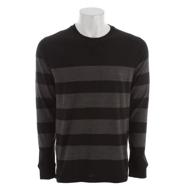 Quiksilver Snit Stripe Sweater Black U.S.A. & Canada