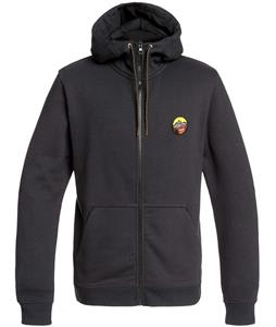 Quiksilver Big Logo Snow DWR Full-Zip Hoodie