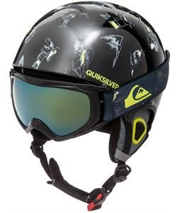 Quiksilver Game Pack w/ Goggles Snow Helmet