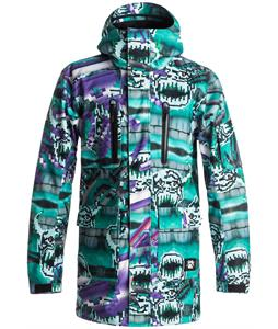 Quiksilver Julien David Dark And Stormy Snowboard Jacket