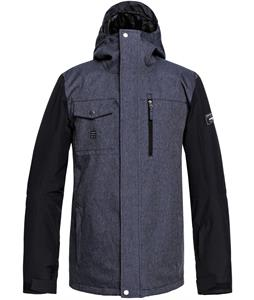 Quiksilver Mission Denim Snowboard Jacket