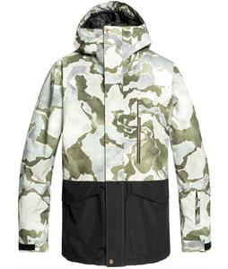 Quiksilver Mission Printed Block Snowboard Jacket