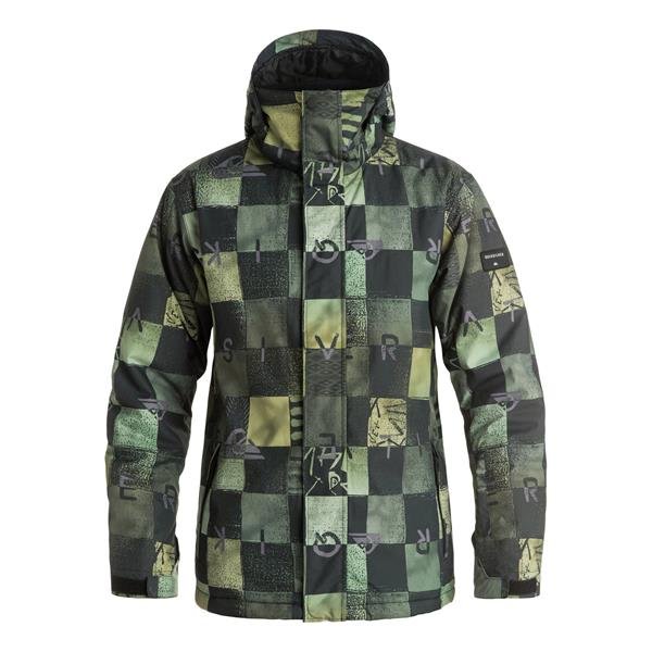 43e6f36ef Quiksilver Mission Printed Snowboard Jacket