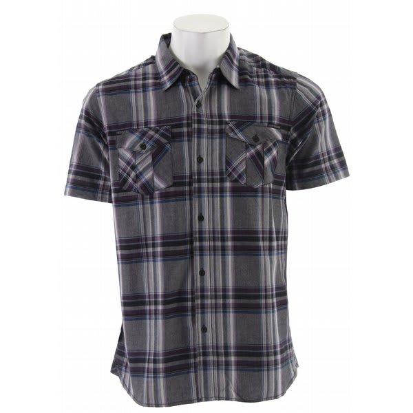 Quiksilver Morgan Shirt Black U.S.A. & Canada