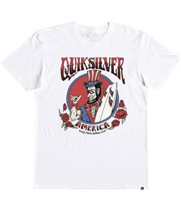 Quiksilver Ride Free Roses T-Shirt