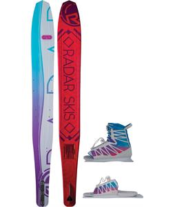 Radar Butter Knife Blem Slalom Ski w/ Lyric/ARTP Bindings