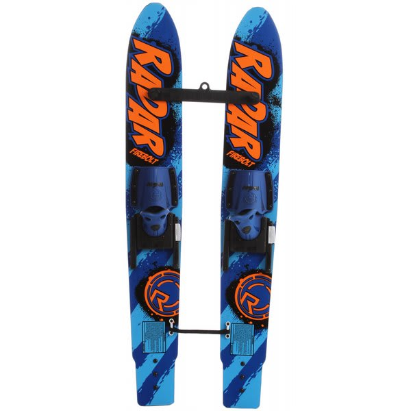 Radar Firebolt 46 W / Child Adjustable Horseshoe Bindings Glo Orange / Blue U.S.A. & Canada