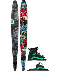 Radar Graphite Lyric Slalom Ski w/ Lyric LTD/ARTP Bindings
